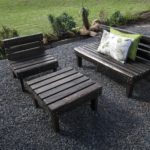 Garden furniture 1-seater, 2-seater and coffee table