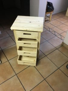 Small Bed side table